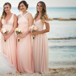 0b2103babbcc Lulu's Dresses | Lulus Make Me Move Blush Pink Maxi Dress Szxs ...